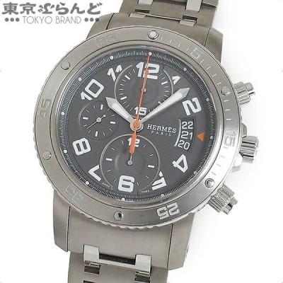 エルメス HERMES クリッパー ダイバー クロノグラフ 時計 腕時計 メンズ 自動巻き オートマチック チタン CP2.941  101510817