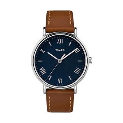 Timex TW2R63900 Men's Southview 41mm Tan Leather Strap Watch並行輸入