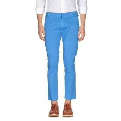 アントレ アミ ENTRE AMIS パンツ ターコイズブルー 30 コットン 97% / ポリウレタン 3% パンツ