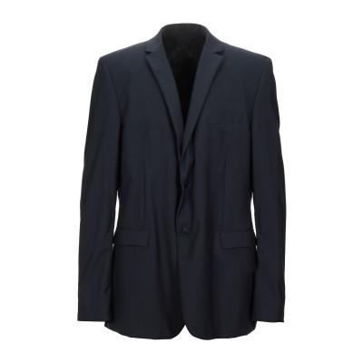 マニュエル リッツ MANUEL RITZ テーラードジャケット ダークブルー 60 バージンウール 100% テーラードジャケット