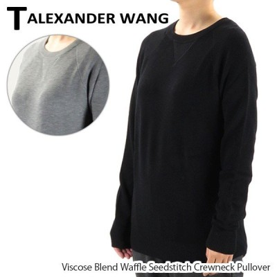 【T by Alexander Wang-ティーバイアレキサンダーワン-】レディース 長袖ニット 402321R14