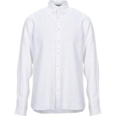 ハケット HACKETT メンズ シャツ トップス linen shirt White