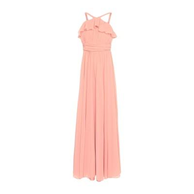 FOREVER UNIQUE ロングワンピース&ドレス ピンク 12 ポリエステル 100% ロングワンピース&ドレス