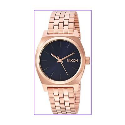 Nixon Women's Medium Time Teller Japanese-Quartz Watch with Stainless-Steel Strap, Rose Gold, 15.25 (Model: A11302763)