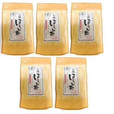 宮崎茶房 有機ほうじ茶 ティーバッグ5g×20 ×5個セット 有機JAS認定 無農薬 ほうじ茶 緑茶