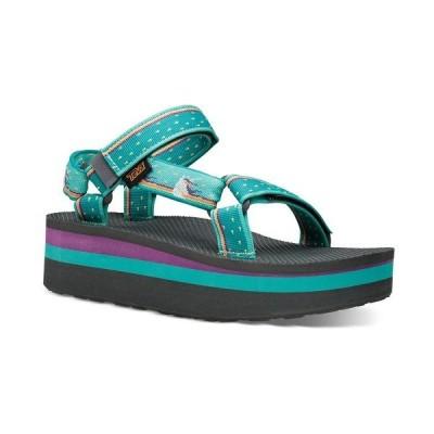 テバ サンダル シューズ レディース Women's Flatform Universal Sandals Unicorn Waterfall