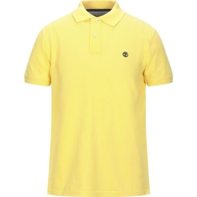 ティンバーランド TIMBERLAND メンズ ポロシャツ トップス polo shirt Yellow