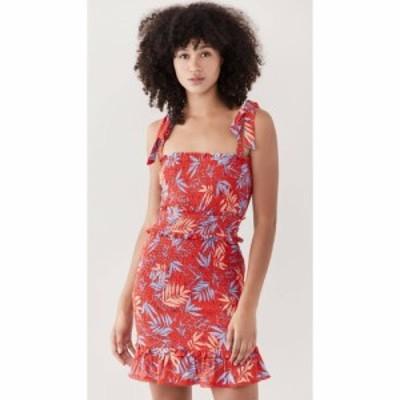 ロストアンドワンダー Lost + Wander レディース ワンピース ミニ丈 ワンピース・ドレス Still On Vacay Mini Dress Red Multi