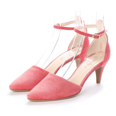 アンタイトル シューズ UNTITLED shoes セパレーツパンプス (レッドスエード)