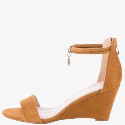 プリマモーダ レディース サンダル SAMLUCA - Wedge sandals - brown