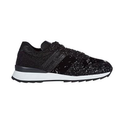 [Hogan] レディース scarpe sneakers donna in pelle nuove r261 US サイズ: 35 US カラー: ブラック 並行輸入品