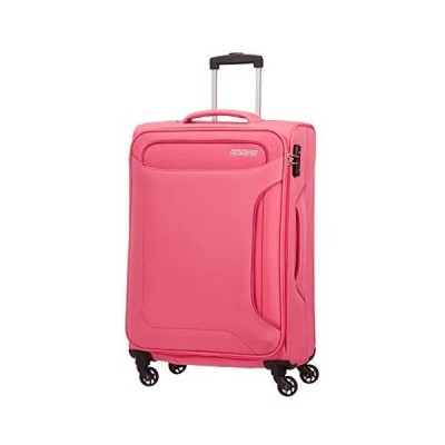 American Tourister Hand Luggage, Pink (Blossom Pink), Spinner M (67 cm-66 L)