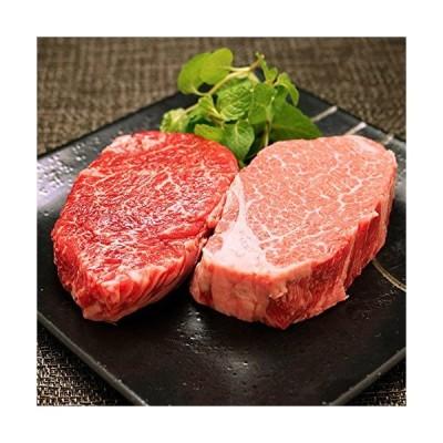 ※毎日発送 [肉贈] 飛騨牛 ギフト A5 A4 「イチボ&ミスジ」ステーキ 食べ比べ セット 各100g × 1枚