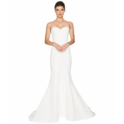 ニコルミラー レディース ドレス Dakota Silk Faille Strapless Gown