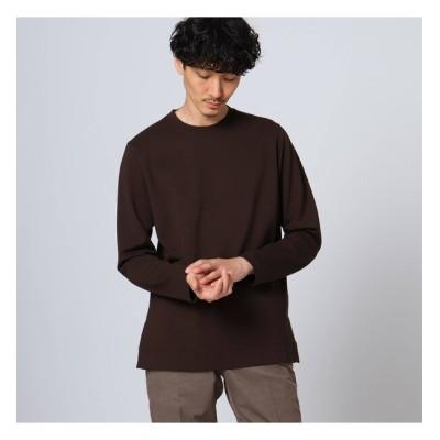 【タケオキクチ/TAKEO KIKUCHI】 【Sサイズ~】スリットポンチ 長袖Tシャツ
