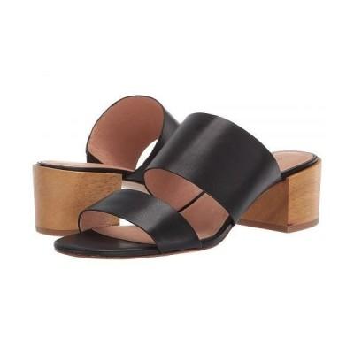 Madewell レディース 女性用 シューズ 靴 ヒール Kiera Two-Strap Mule Sandal - True Black