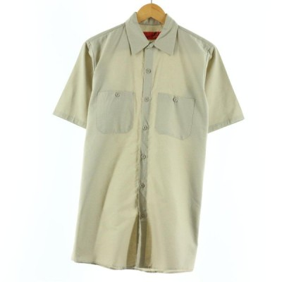 レッドキャップ Red kap 半袖 ワークシャツ メンズM /eaa139042