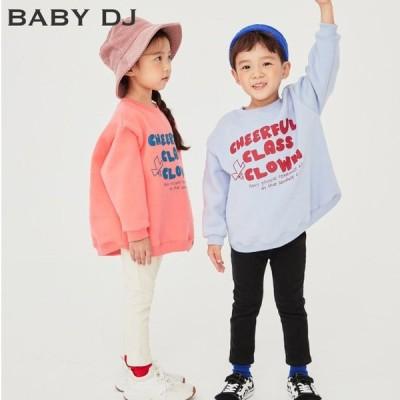 全2色あったかレタリングトレーナー*韓国子供服*