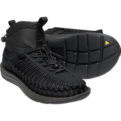 キーン KEEN Mens Uneek HT Mid Black/Black