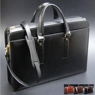 ビジネスバッグ 本革 メンズ 日本製 職人鞄 ビジネスバッグ ショルダー付属 本革 軽量 ブリーフケース メンズ ビジネスバッグ 革 牛革 レ