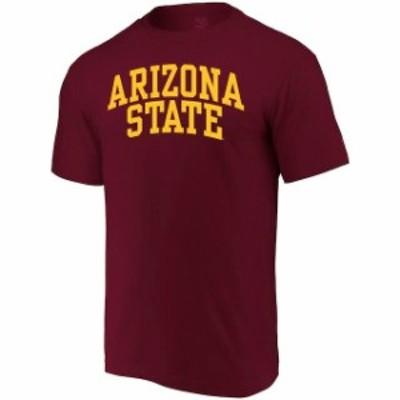 Alta Gracia アルタ グラシア スポーツ用品  Alta Gracia (Fair Trade) Arizona State Sun Devils Maroon Arched Wordmark