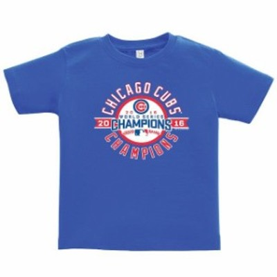 Soft as a Grape ソフト アズ ア グレープ スポーツ用品  Soft as a Grape Chicago Cubs Toddler Royal 2016 World Seri