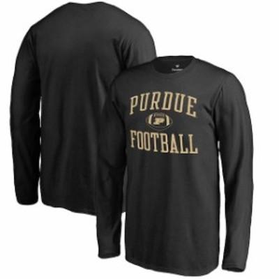 Fanatics Branded ファナティクス ブランド スポーツ用品  Fanatics Branded Purdue Boilermakers Youth Black Neutral Zone Long Sleeve