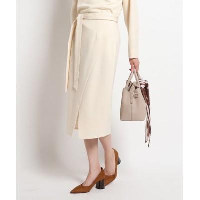 COUP DE CHANCE / ポンチスリット入りタイトスカート WOMEN スカート > スカート