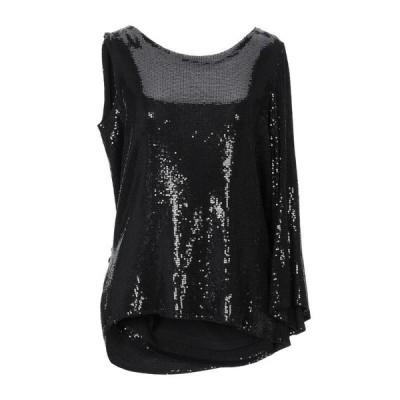 RUBENDELLARICCIA トップス  レディースファッション  トップス  Tシャツ、カットソー  半袖 ブラック