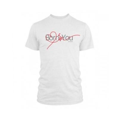 Born For You ロゴ入りTシャツ XSサイズ