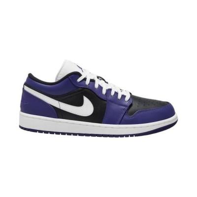 (取寄)ジョーダン メンズ シューズ AJ 1 ロー Jordan Men's Shoes AJ 1 LowCourt Purple White Black