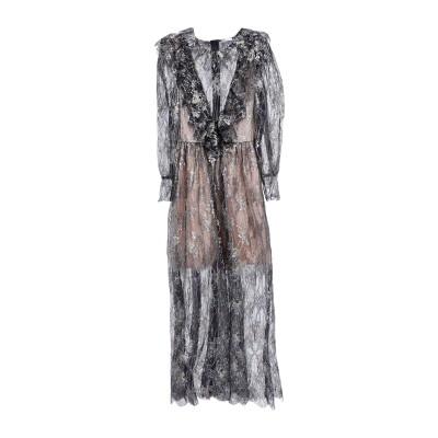 マヌーシュ MANOUSH ロングワンピース&ドレス ブラック 38 ポリエステル 60% / ナイロン 40% ロングワンピース&ドレス