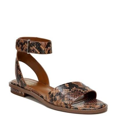 フランコサルト レディース サンダル シューズ Maxine Snake Print Leather Sandals