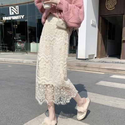 春夏新作 韓国 レディース ファッションレー スカート
