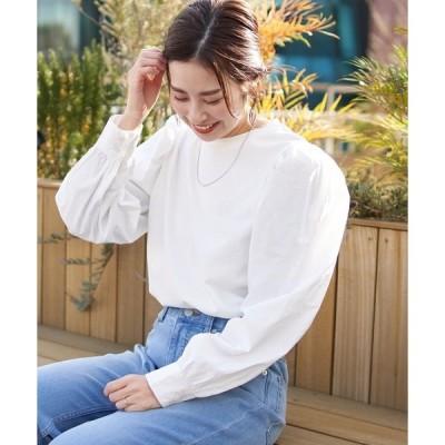 tシャツ Tシャツ 【ZOZOTOWN限定】パフスリーブニュアンスTee