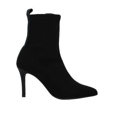 マリアン MARIAN ショートブーツ ブラック 40 紡績繊維 ショートブーツ