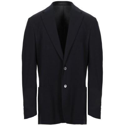 CORNELIANI ID テーラードジャケット ダークブルー 54 バージンウール 50% / コットン 41% / ナイロン 9% テーラードジ