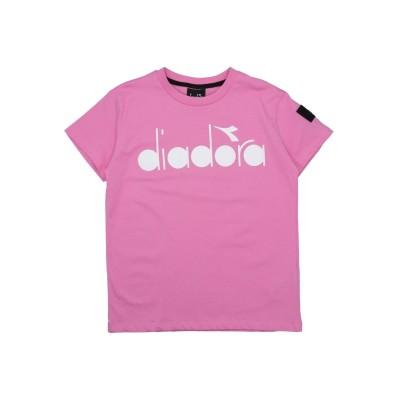 ディアドラ DIADORA T シャツ ピンク 10 コットン 100% T シャツ