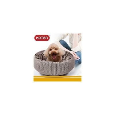KETER コージー ペットベッド(ペット ハウス クッション ベッド 犬 猫 犬小屋 ドッグハウス キャットハウス ケーター)