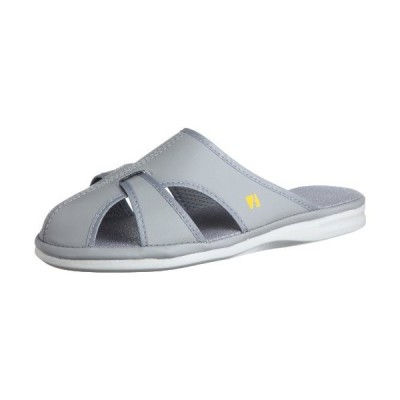 [ミドリ安全] 静電作業靴 静電気帯電防止 サンダル スリッパ エレパス PS01 ライトS メンズ グレー LL(26.5~27.0cm)(27cm