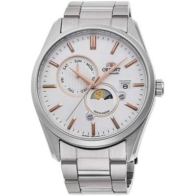 腕時計 オリエント メンズ RA-AK0301S10B Orient Men's Automatic Watch with Stainless Steel Strap, Sil