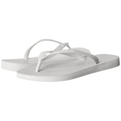 ハワイアナス Havaianas メンズ ビーチサンダル シューズ・靴 Top Flip Flops White