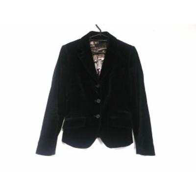 ポールスミスブラック PaulSmith BLACK ジャケット サイズ38 M レディース - 黒 長袖/春/秋【中古】20201031