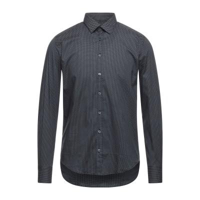 ハマキホ HAMAKI-HO シャツ ブラック S コットン 97% / ポリウレタン 3% シャツ