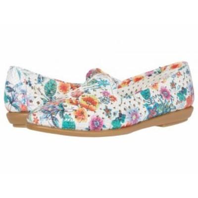 Aerosoles エアロソールズ レディース 女性用 シューズ 靴 フラット You Betcha White Floral Multi【送料無料】