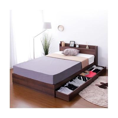 棚・コンセント付き収納ベッド 収納付きベッド, 収納ベッド, Beds(ニッセン、nissen)