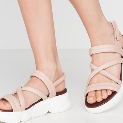 タマリス レディース サンダル Platform sandals - rose
