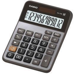 【CASIO】12位數桌上型大螢幕計算機-黑X灰(MX-120B)