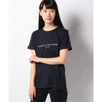 【トミーヒルフィガー】エンブロイダリーコットンTシャツ