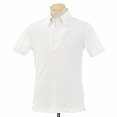 オリアン ORIAN ボタンダウン ポロシャツ ホワイト XS